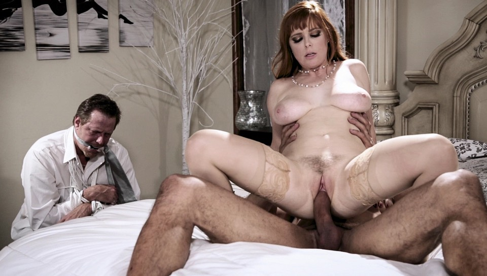 Virtual taboo - cuckolding the wife in front of hubby